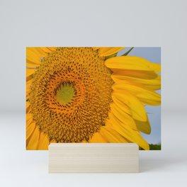 Sunny Sunflower Mini Art Print