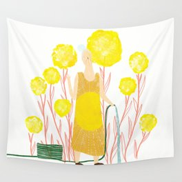 Happy May Wall Tapestry