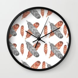 The Nomad Life Wall Clock