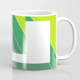 Greens Pattern Coffee Mug
