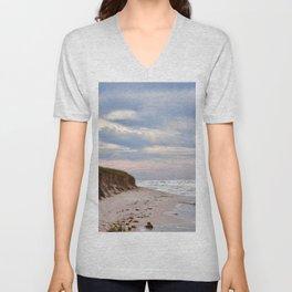 Michigan beach Unisex V-Neck