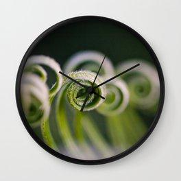 Curly Wall Clock