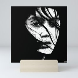 The Expected Intensity (Sketchy Reputation / Jeff Gross) Mini Art Print