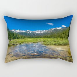 A hidden treasure Rectangular Pillow
