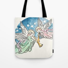 Angelic Hymn Tote Bag