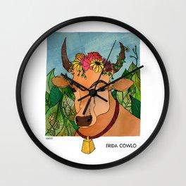 Frida Cowlo Wall Clock