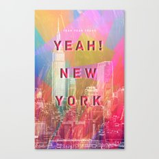 Yeah! New York Canvas Print