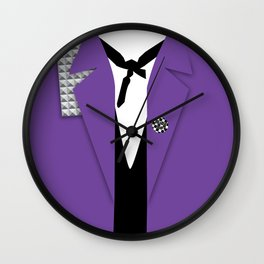 RudeBoy TrenchTee Wall Clock