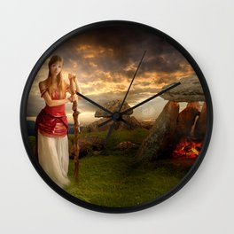 Lugnasad Wall Clock