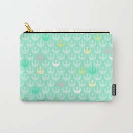 Rebel Alliance on Mint in Pastels Carry-All Pouch