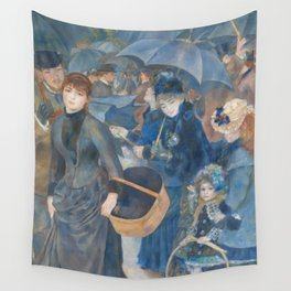 Auguste Renoir - The Umbrellas Wall Tapestry