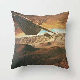 From Mars to Sirius Throw Pillow