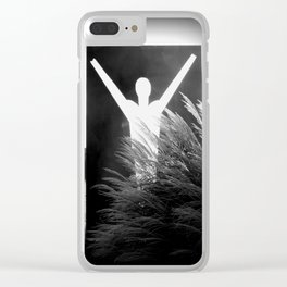 Death and Resurrection of the Heart Clear iPhone Case