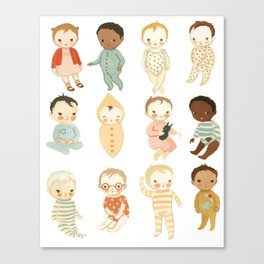 Babies by Emily Winfield Martin Canvas Print