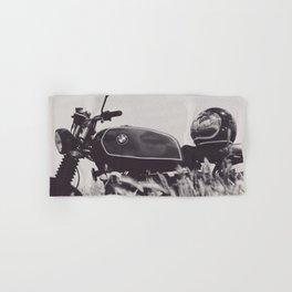 Scrambler photography, motorcycle lovers, motorbike, café racer, cafe racer, man cave gift Hand & Bath Towel