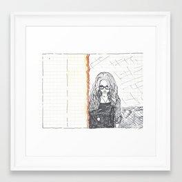 gi. Framed Art Print