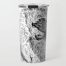 Shy Bear Travel Mug