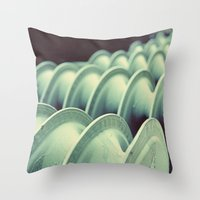 industrial Throw Pillows featuring industrial by HD Connelly