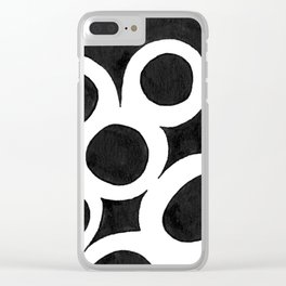 Capillary Action I Clear iPhone Case