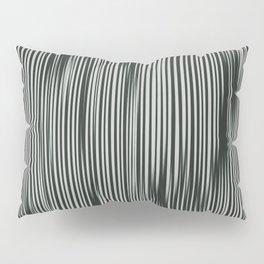 soft and moody tonal ikat stripes Pillow Sham