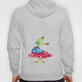 Leap Frog on a Toad Stool!  Hoody
