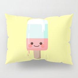 Kawaii melting popsicle Pillow Sham