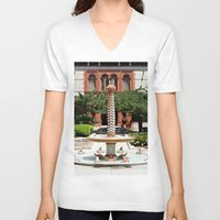oasis V-neck T-shirts featuring Oasis by Photaugraffiti