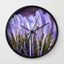 Ultra Violet Sound Wall Clock