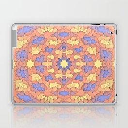 Arabesque 3D - Color: Sunset Hues Laptop & iPad Skin