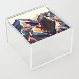 Mountains original Acrylic Box