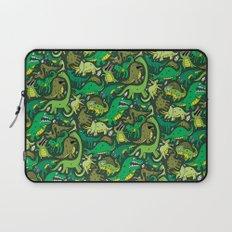 Dino Pattern Laptop Sleeve
