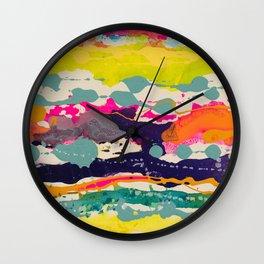 PCH Blotter Wall Clock