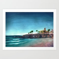 The Hacienda Art Print