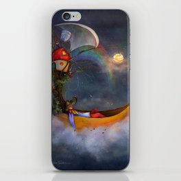 The daysleeper and his companions iPhone Skin