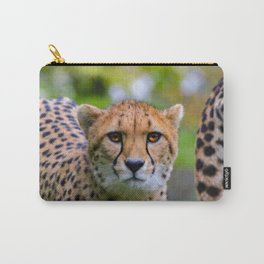 African Cheetah looking into the camera Carry-All Pouch
