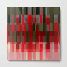 pixel effects. stretch. 3 Metal Print
