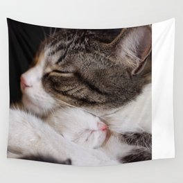 Mother's hug Wall Tapestry