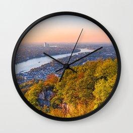 THE RHINE 05 Wall Clock