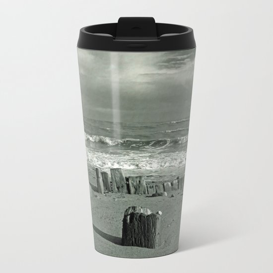 BEACH WORSHIP Metal Travel Mug