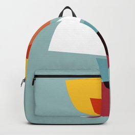 Mid century abstract art 01 Backpack