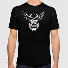 Yare Devil mask #1 X-LARGE Mens Fitted Tee Black