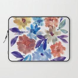 hand painted flowers_3c Laptop Sleeve