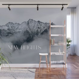 New Heights Wall Mural