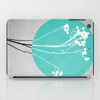 decal iPad Cases featuring Abstract Flowers 1 by Mareike Böhmer