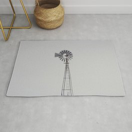 Winter Windmill Rug