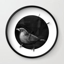 Polka Perch Solo Wall Clock