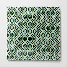 Op Art 157 Metal Print