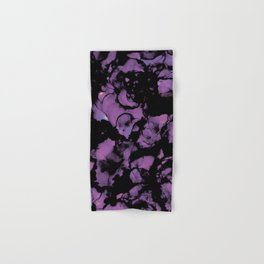 I Lilac You A Lot- Abstract Alcohol Ink Painting Hand & Bath Towel