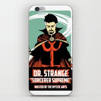 doctor iPhone & iPod Skins featuring Doctor by Shop 5