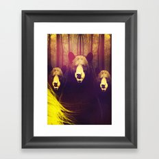 Once Upon A Time: Goldie Framed Art Print